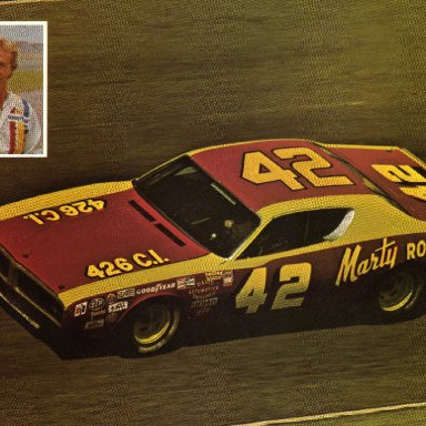 Marty Robbins. 1972 Dodge Charger