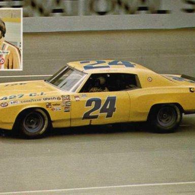 Cecil Gordon. 1972 Chevrolet Monte Carlo