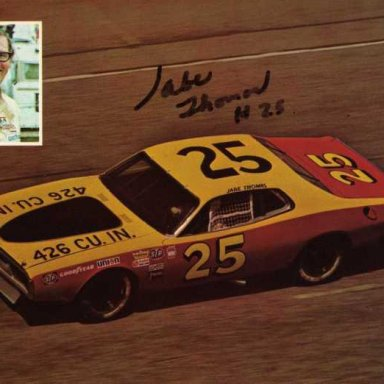 Jabe Thomas/Don Robertson 1973 Dodge Charger