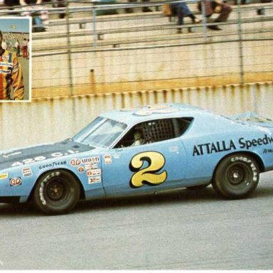Dave Marcis. 1972 Dodge Charger