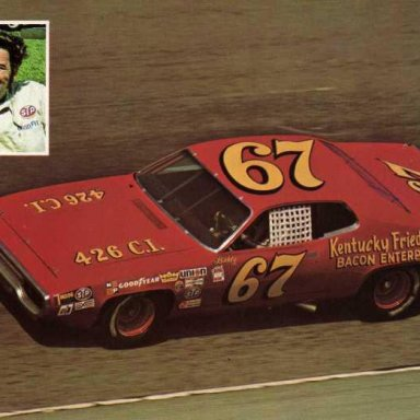 Buddy Arrington. 1972 Plymouth Road Runner