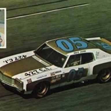 David Cisco. 1972 Chevrolet Monte Carlo.