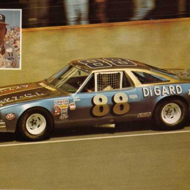 Donnie Allison/DiGard Racing 1973 Chevrolet Malibu