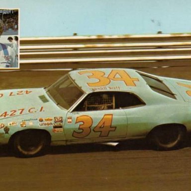 Wendell Scott. 1971 Ford Fairlane