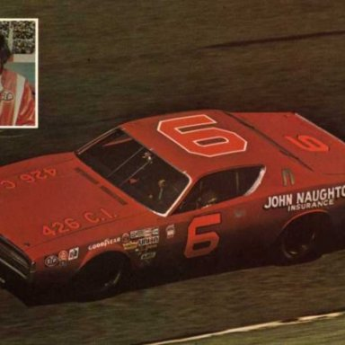 Dick Brooks/Cotton Owens 1972 Dodge Charger