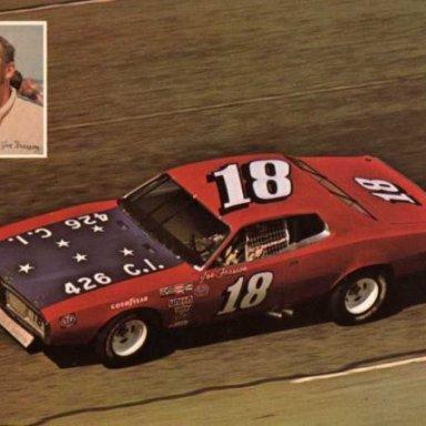 Joe Frasson. 1973 Dodge Charger