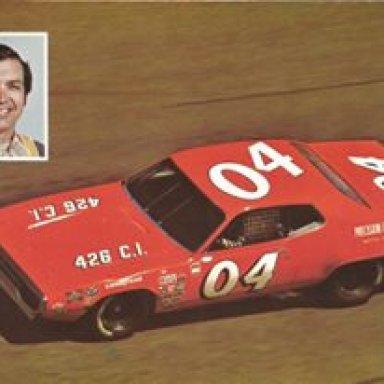 Herschel McGriff/Petty Enterprises 1972 Plymouth Roadrunner