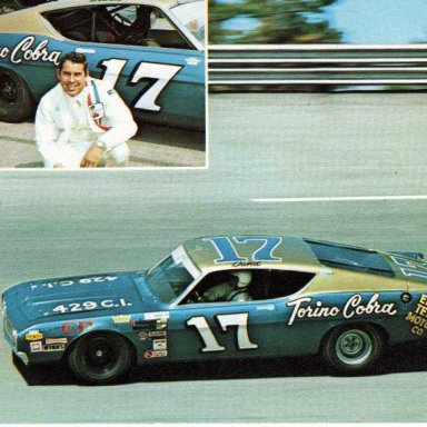 with the Holman-Moody 1969 Ford Torino Talladega