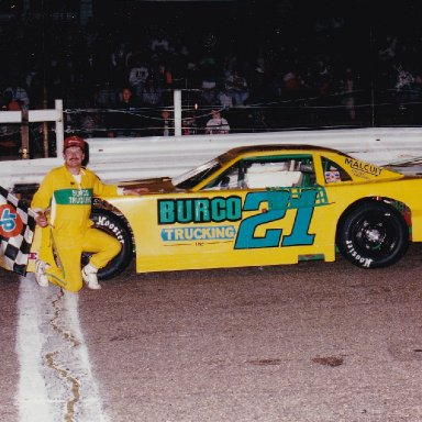 Feature Win (#225), Midvale Speedway 50 Lap, Sep 6, 1992