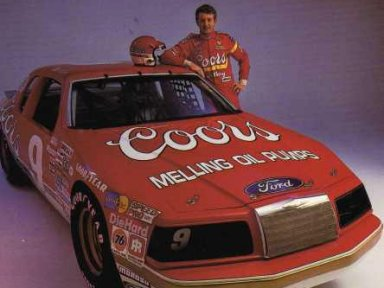 Bill Elliott/Harry Melling 1983-86 Ford Thunderbird