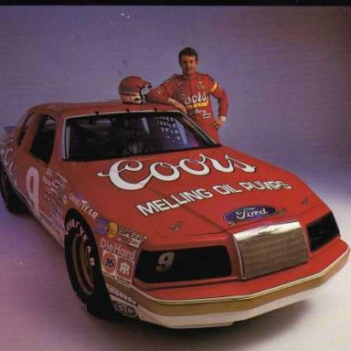 Bill Elliott/Harry Melling 1983-86 Ford Thunderbird