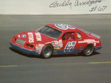Buddy Arrington. 1983-86 Ford Thunderbird