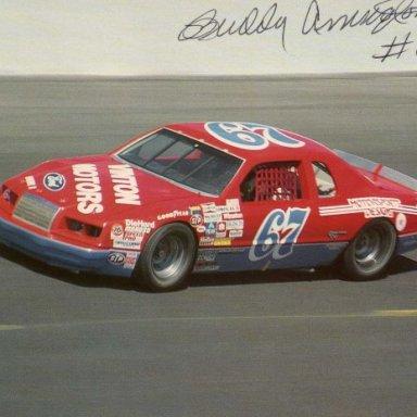 Buddy Arrington. 1983-86 Ford Thunderbird