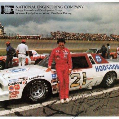 Neil Bonnett/Wood Brothers 1982 Ford Thunderbird