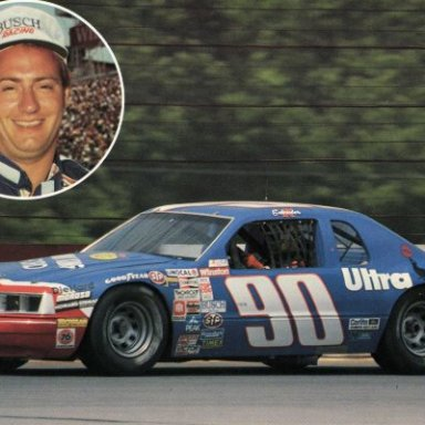 Ken Schraeder/Junie Donlavey 1983-86 Ford Thunderbird