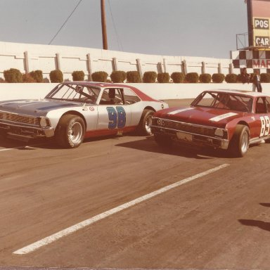 98 and 89 at Martinsville