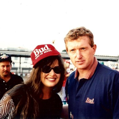 Stacie and Bill Elliott