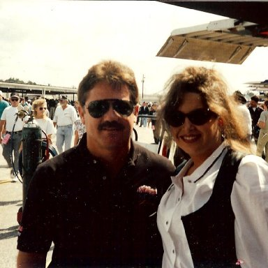 Terry Labonte and Stacie