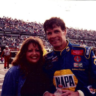 Stacie and Michael Waltrip