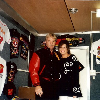 Robert Yates and Stacie