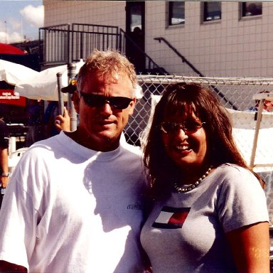 Ricky Rudd and Stacie