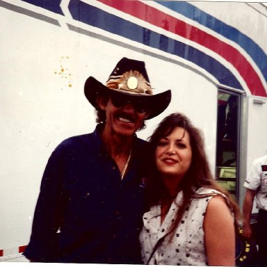 Richard Petty and Stacie
