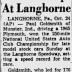 October 24, 1965 Langhorne 250