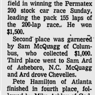 1973 Macon Middle Georgia Permatex 200 LMS Ridley 060473StPeteTimes.png