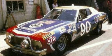 Herbie the #90 Truxmore Ford Torino