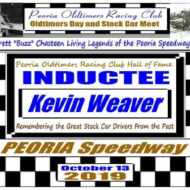 Everett Chasteen Inductee Kevin Weaver