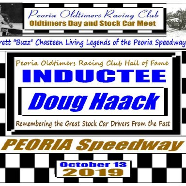 Everett Chasteen Inductee Doug Haack