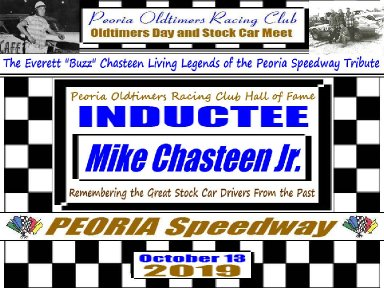 Everett Chasteen Inductee Mike Chasteen Jr