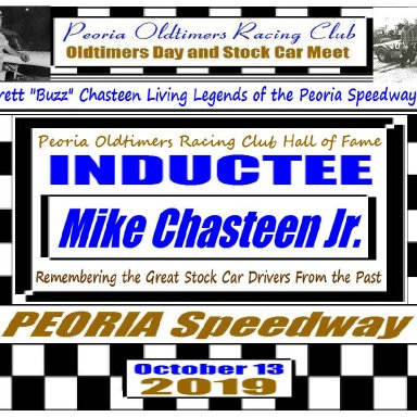 Everett Chasteen Inductee Mike Chasteen Jr
