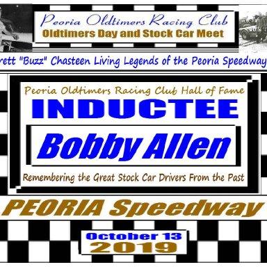Everett Chasteen Inductee Bobby Allen