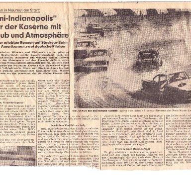 Karlsrhue Newpaper Artivle 1972