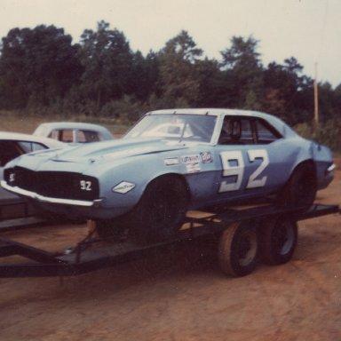 Concord Speedway Paul Tyler 1970s-1