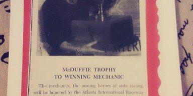 Mcduffie memorial trophy