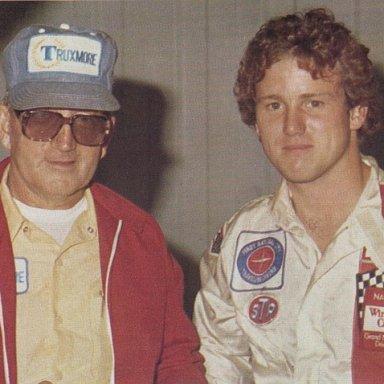 Junie Donlavey & Ricky Rudd 1979