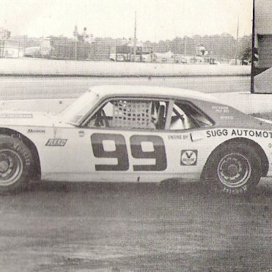 Bill Bridgers Wilson Co Speedway'76