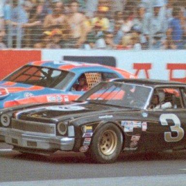 Richard Childress & Richard Petty 1977