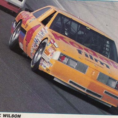 1987 OLDS action photo - 3