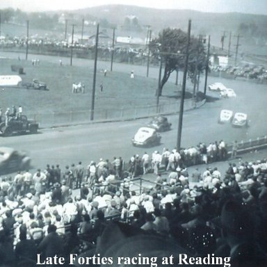 Early 40s @ Reading Fairgrounds Speedway