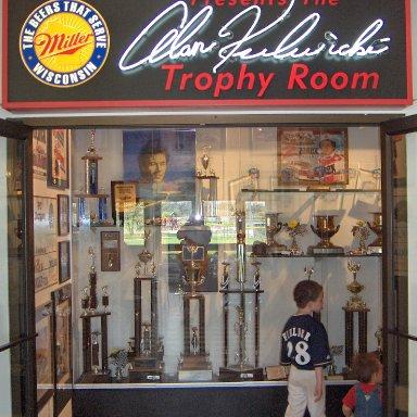Alan Kulwicki Trophy Room
