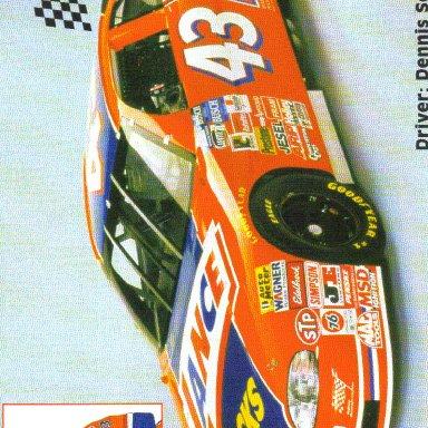 1997 #43 Dennis Setzer Lance Snacks