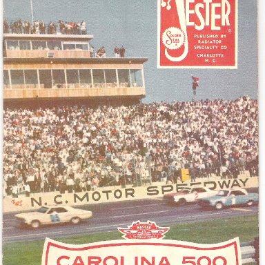 1967 Carolina 500