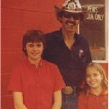 Donna, Cindy & Richard Petty
