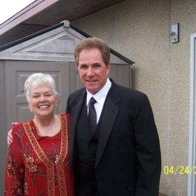 Wanda Lund Early and Darrell Waltrip