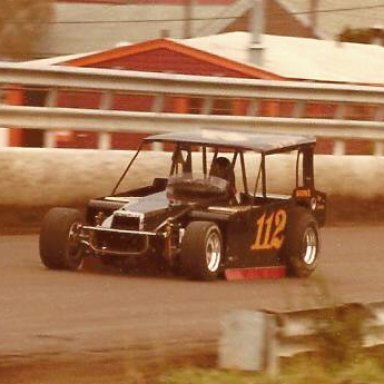 GARY BALOUGH #112 BATMOBILE MODIFIED