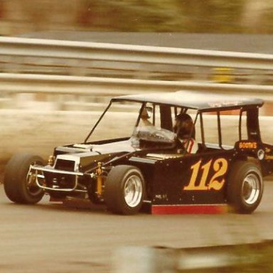 GARY BALOUGH #112 BAT MOBILE MODIFIED