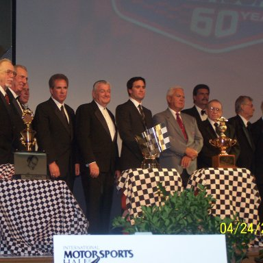 Red Farmer,Ned Jarrett, Mike, Helton,David Pearson, Darrell Waltrip, Bobby Allison, Jimmy Jonhson, Junior Johnson, Mike Helton, Cotton Owens, Ray Fox and Raymond Parks